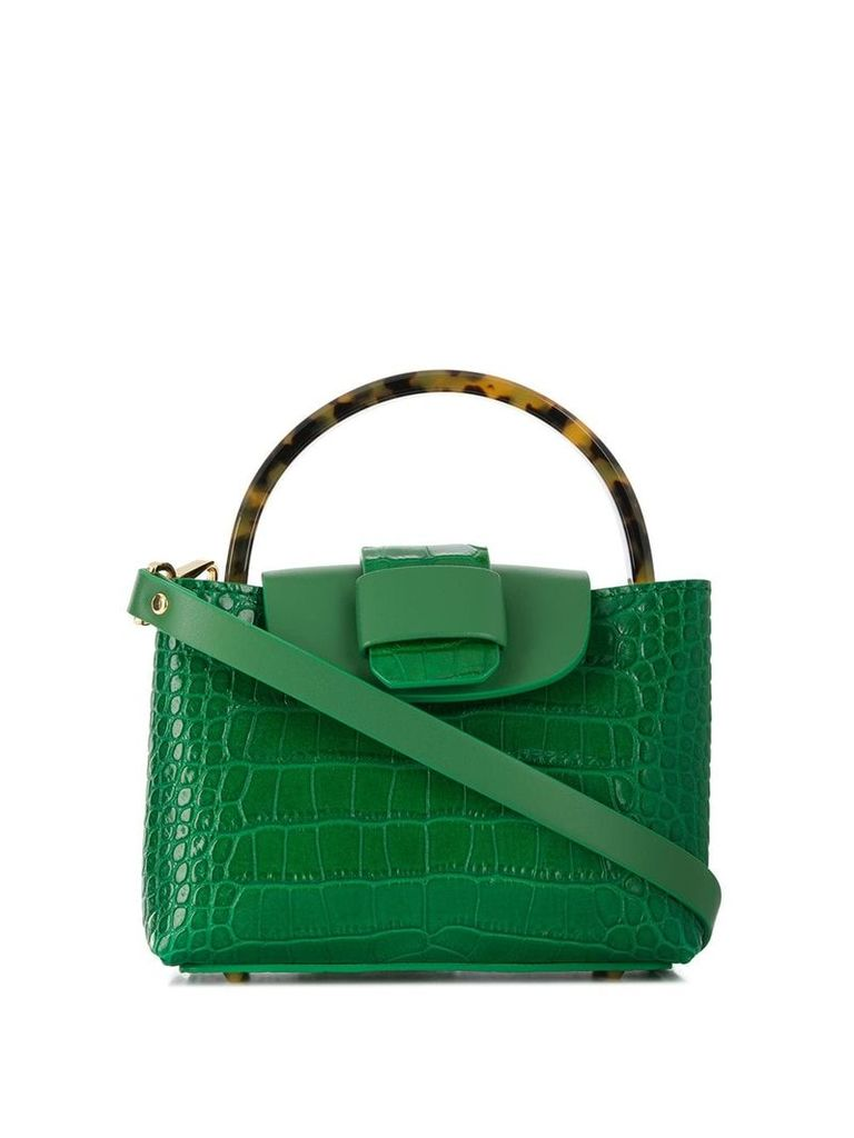Nico Giani top-handle tote - Green