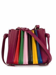 Sara Battaglia Franca mini shoulder bag - Pink