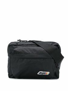 MSGM large crossbody belt bag - Black
