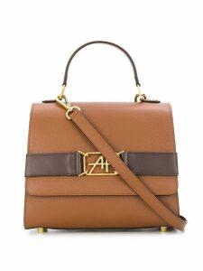 Alberta Ferretti AF buckle shoulder bag - Brown