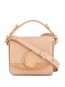 Chloé C mini shoulder bag - Pink