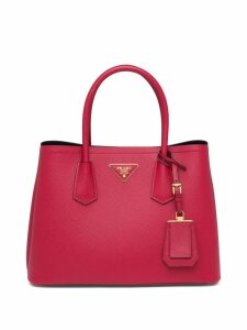 Prada Double Small Bag - Red