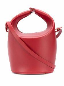 Nico Giani leather bucket bag - Red