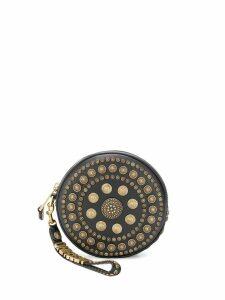 Moschino Shield clutch bag - Black