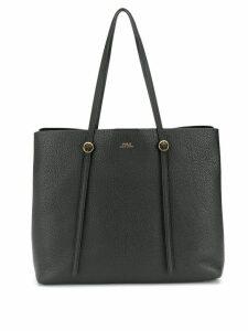Polo Ralph Lauren pebbled texture tote - Black