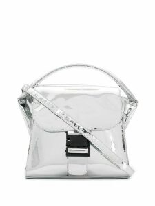Zucca buckled tote bag - Silver