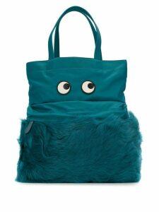 Anya Hindmarch Eyes tote - Blue