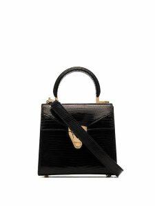 Stalvey Trapezoid top-handle bag - Black