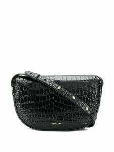 Frenzlauer Swing crocodile effect crossbody bag - Black