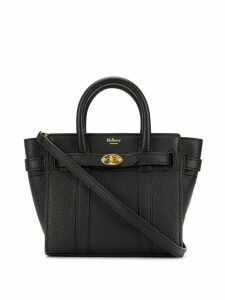 Mulberry micro zipped Bayswater bag - Black