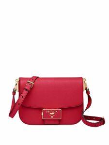 Prada Saffiano leather shoulder bag - Red
