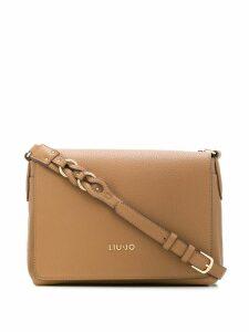 Liu Jo logo shoulder bag - Brown