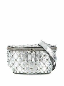 Valentino Valentino Garavani Rockstud Spike belt bag - Metallic