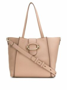 Tod's foldover tote bag - Neutrals