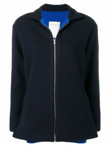 Stephan Schneider knitted sports jacket - Blue