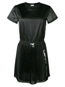 Red Valentino sports jersey dress - Black
