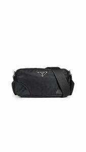 What Goes Around Comes Around Prada Black Nylon Mini Shoulder Bag