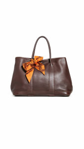 What Goes Around Comes Around Hermes Brown Garden Party Tote