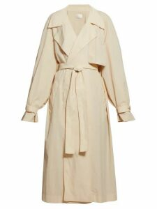 The Row - Kareem Oversized Trench Coat - Womens - Beige