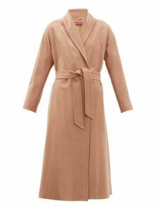Max Mara Studio - Sorbona Coat - Womens - Camel