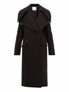 Tibi - Recycled Wool Blend Coat - Womens - Black