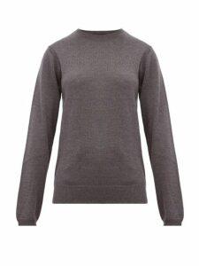 A.p.c. - Savannah Merino Wool Sweater - Womens - Grey