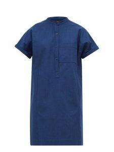 A.p.c. - Temple Denim Shirtdress - Womens - Indigo