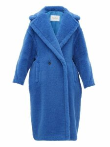 Max Mara - Teddy Coat - Womens - Blue