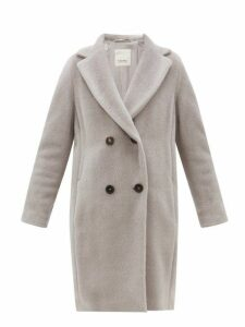 S Max Mara - Rose Coat - Womens - Light Grey