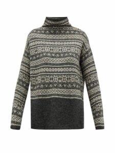 S Max Mara - Agrume Sweater - Womens - Grey Multi