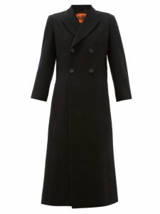 Colville - Military Double-breasted Wool Coat - Womens - Black