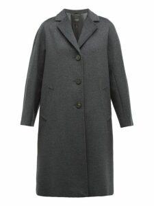 Weekend Max Mara - Funale Coat - Womens - Dark Grey