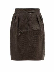 Max Mara - Manila Skirt - Womens - Black