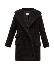 Max Mara - Lastra Coat - Womens - Black