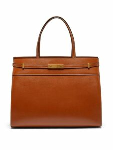 Saint Laurent - Manhattan Medium Leather Tote Bag - Womens - Tan