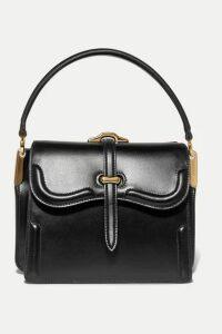 Prada - Belle Small Leather Shoulder Bag - Black