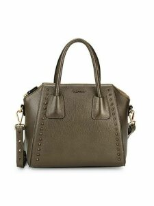 Minimi Preciosa Studded Leather Shoulder Bag