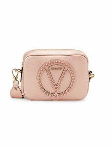 Mia Rock Dollaro Studded Leather Shoulder Bag