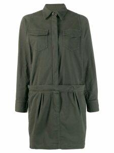 Brunello Cucinelli surplus shirt dress - Green