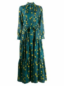 La Doublej Bellini maxi dress - Blue