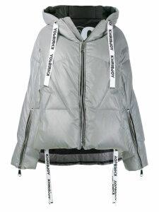 Khrisjoy hooded puffer jacket - Grey