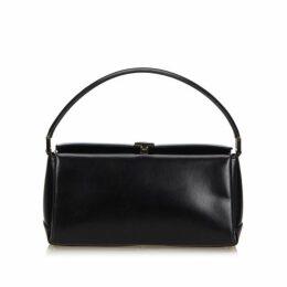 Gucci Black Leather Handbag