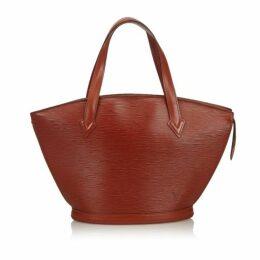 Louis Vuitton Brown Epi Saint Jacques Pm Short Strap