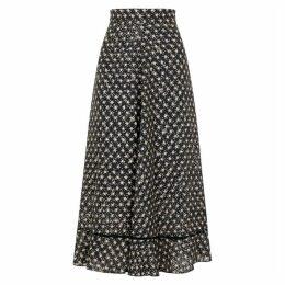 Stine Goya Marigold Star-print Midi Skirt