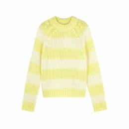 Samsøe & Samsøe Simone Striped Chunky-knit Jumper