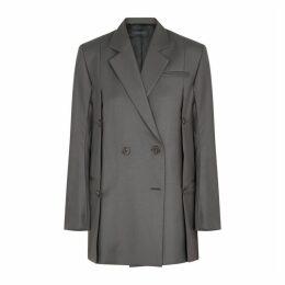 Eudon Choi Beatrice Grey Wool Blazer