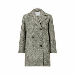 Jigsaw Boucle Oversized Pea Coat
