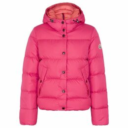 Moncler Lena Pink Quilted Shell Jacket