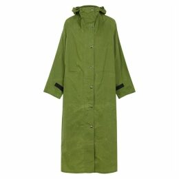 KASSL Army Green Cotton Trench Coat
