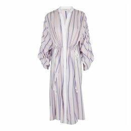 BY MALENE BIRGER Genua Striped Cotton-blend Dress